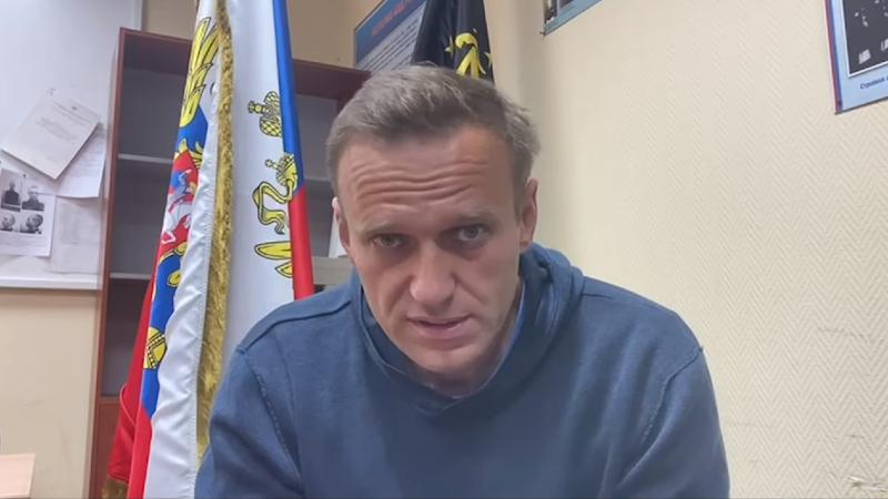 Алексей Навальный арестован на 30 суток