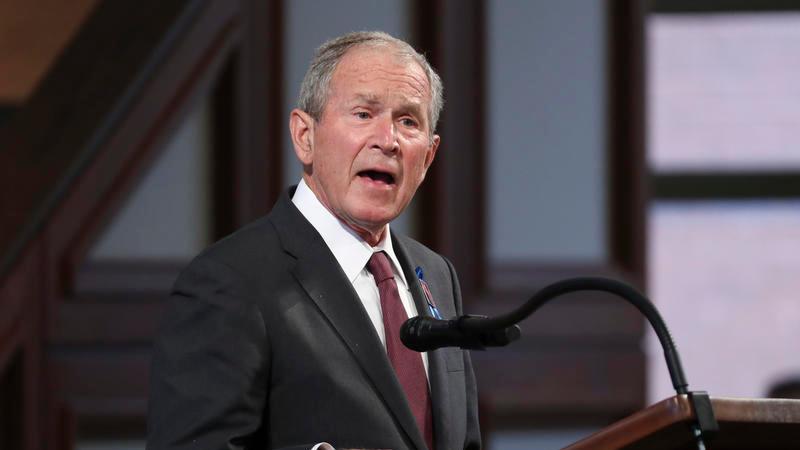 Джордж Буш: «Самым большим разногласием» с Меркель было членство Грузии в НАТО