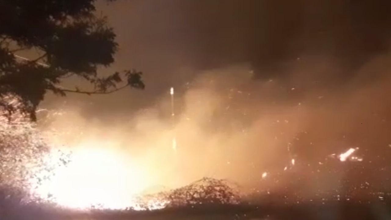 Пожары в Гальском районе — объявлена эвакуация