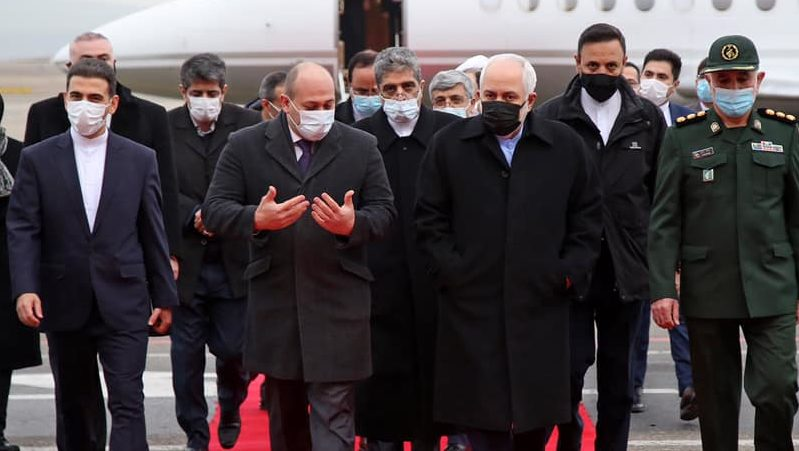 Глава МИД Ирана прибыл в Грузию