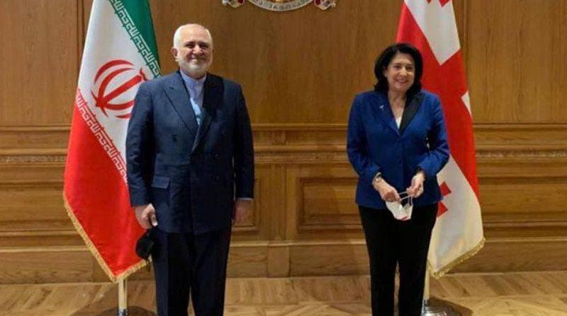 Глава МИД Ирана встретился с президентом и премьер-министром Грузии