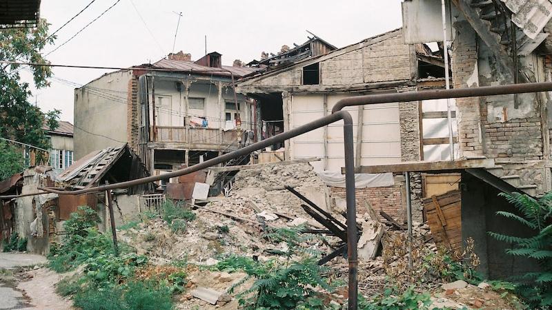 Проблемы аварийного фонда Старого Тбилиси