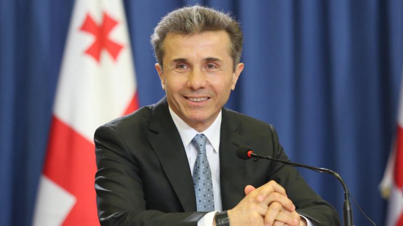 Президент Франции присвоил Бидзине Иванишвили титул кавалера Почетного легиона