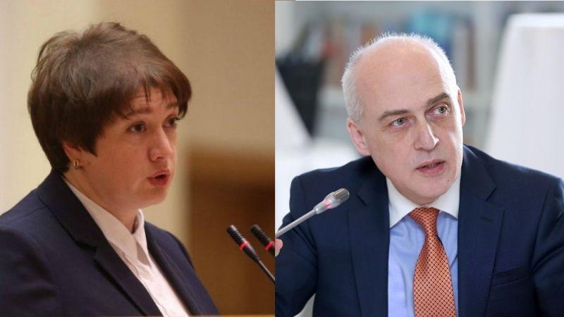 Вице-премьерами в новом правительстве Грузии станут Майя Цкитишвили и Давид Залкалиани