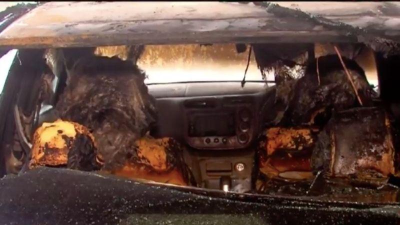 თბილისში 2 ავტომობილი დაიწვა