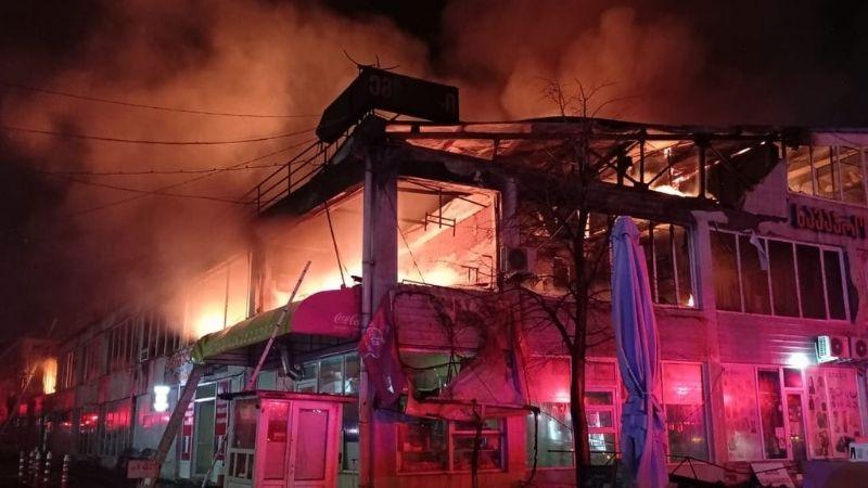 Пожар на окрайне Тбилиси ликвидирован