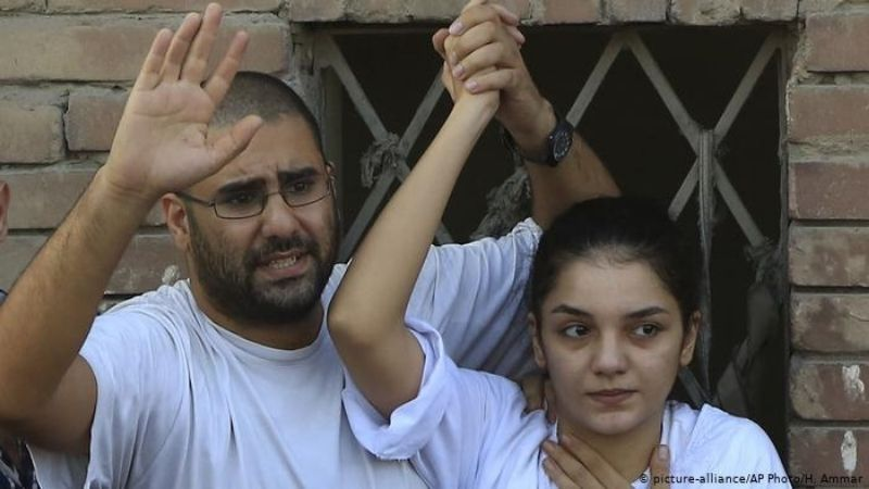 მონა სეიფის და-ძმა. ამჟამად, ორივე მათგანი ციხეშია. ფოტო: AP