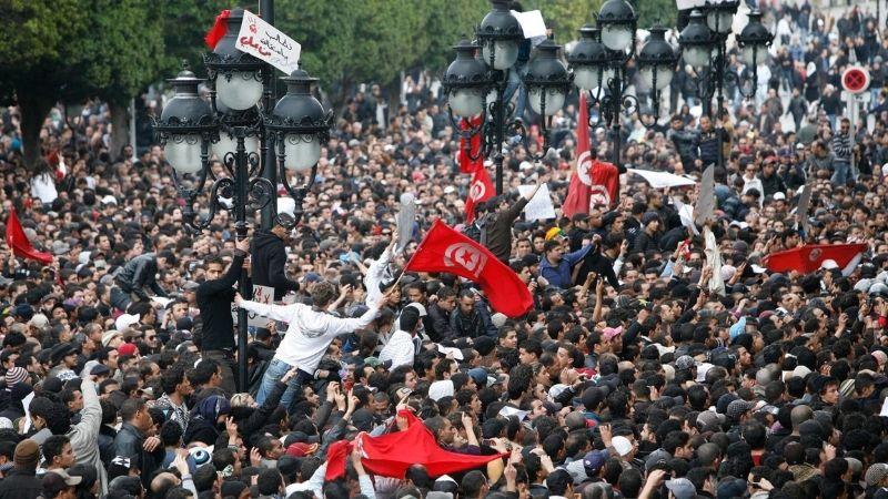 თუნისის რევოლუცია 2011 ფოტო: EPA