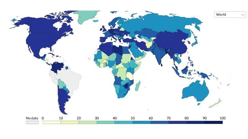 Грузия на восьмом месте в мировом рейтинге ковид-ограничений