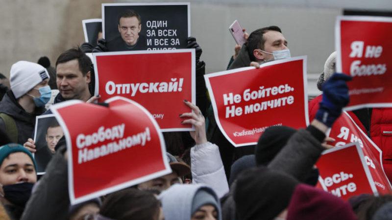 რუსეთში აქციებზე 900-მდე პირი, მათ შორის იულია ნავალნიც დააკავეს