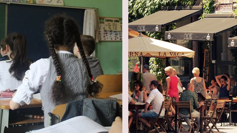 დღეიდან სკოლები და ღია კაფეები იხსნება