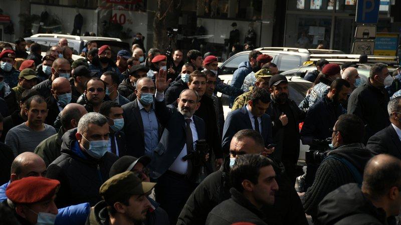 Что происходит в Армении — фоторепортаж из Еревана