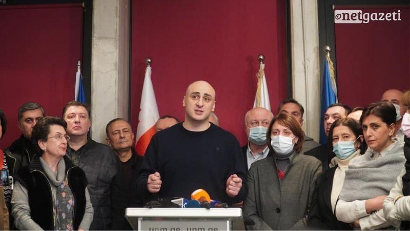 Ника Мелия: Требуем встречи с представителями режима по вопросу внеочередных выборов