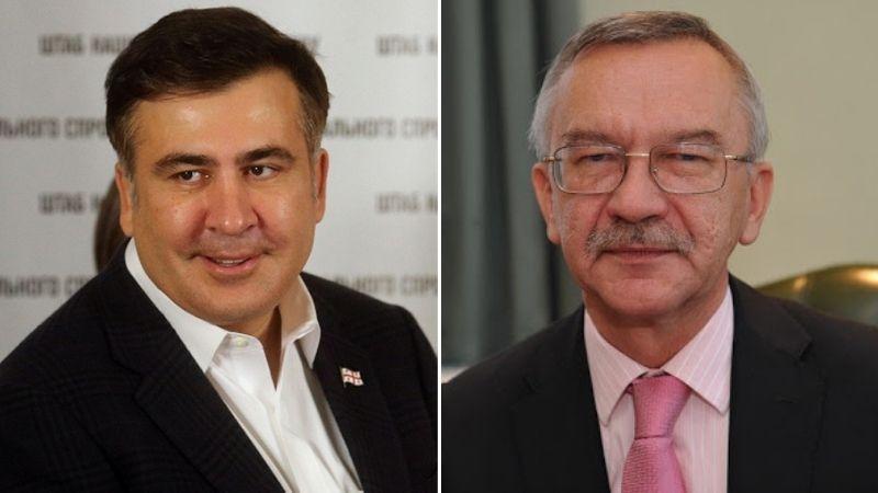 МИД Украины призвал Саакашвили воздержаться от призывов к акциям неповиновения в Грузии