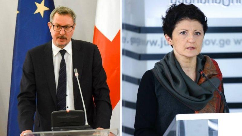 Посол ЕС встретился с Цулукиани по вопросу обнародования номера директора «Mtavari Arkhi»