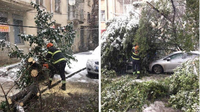 Снегопад в Грузии: в Службу экстренной помощи поступило 140 звонков