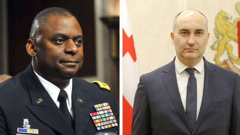 Пентагон выразил готовность помочь Грузии в укреплении обороноспособности