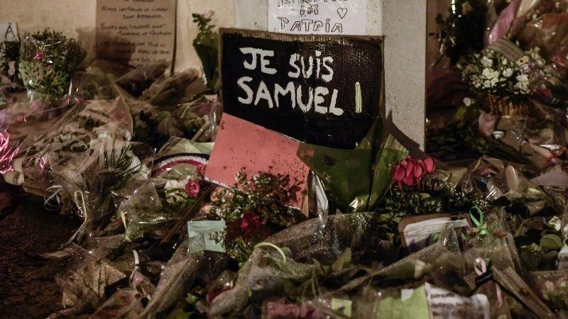 Убийство французского учителя: школьница призналась во лжи