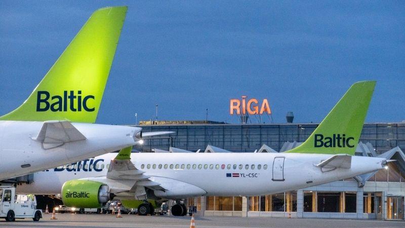 Латвийская Air Baltic возобновит полеты в Тбилиси с 28 марта
