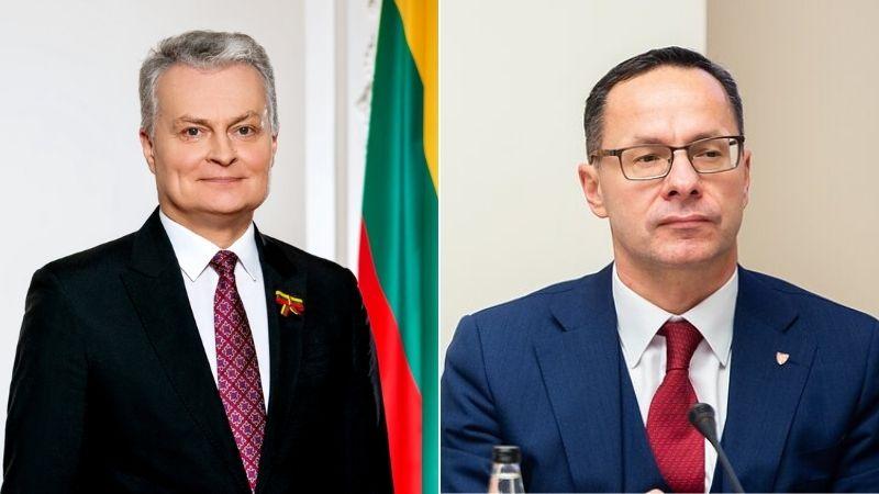 Президент Литвы раскритиковал визит Павилёниса в Грузию