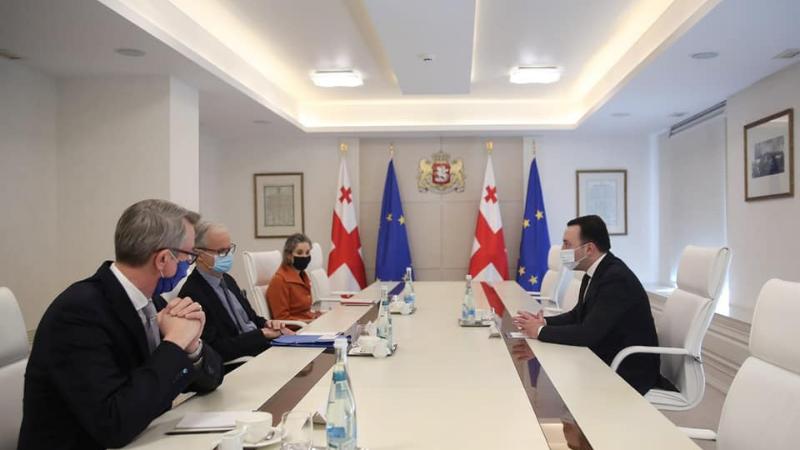 Премьер-министр Грузии встретился с личным представителем президента Евросовета