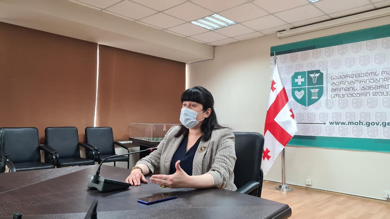 COVID-19: Больницы Грузии заполнены на более чем 80%