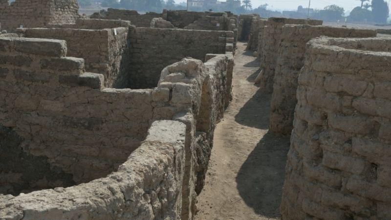 ეგვიპტეში 3 000 წლის წინანდელი ქალაქის ნაშთებს მიაგნეს