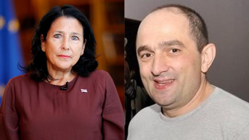 Президент Грузии готова помиловать Гиоргия Руруа, но с одним условием