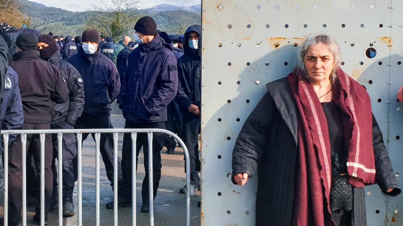 «Опасный прецедент» — блокпосты и баррикады в долине Риони