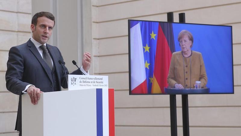 მერკელმა და მაკრონმა რუსეთს უკრაინის საზღვრიდან ჯარის გაყვანისკენ მოუწოდეს —  France 24