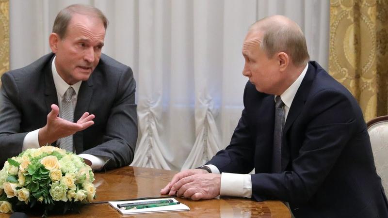 СМИ: В Украине «кума Путина» обвиняют в госизмене