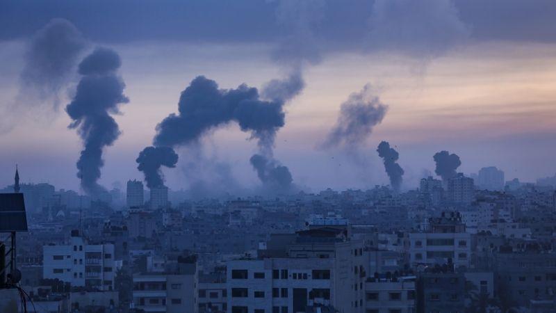 ისრაელის საჰაერო დარტყმები ღაზის სექტორიზე. 21.05.21 ფოტო: EPA