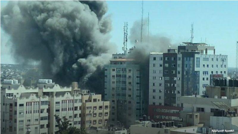 Израиль атаковал здание с офисами СМИ в Газе