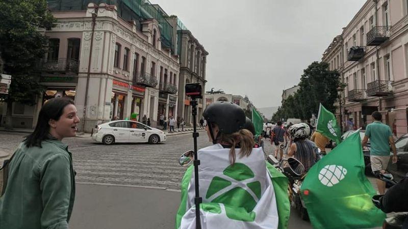 """""""გირჩი —მეტი თავისუფლების"""" აქცია-მსვლელობა თბილისში"""