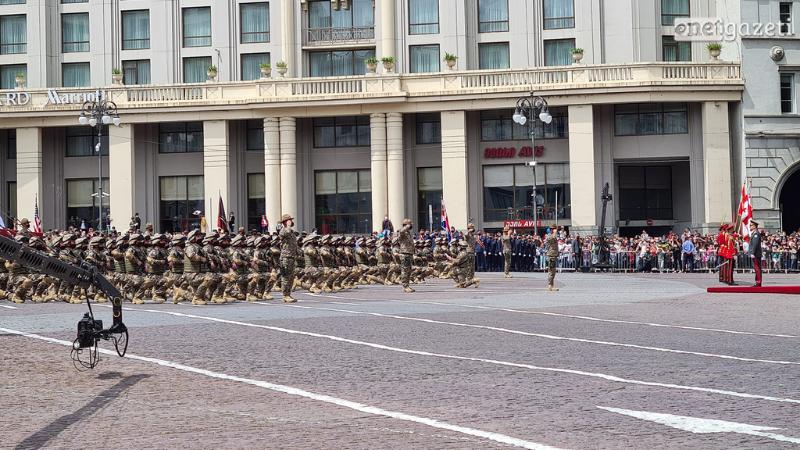 საქართველოს დამოუკიდებლობის დღეს 247-მა რეკრუტმა სამხედრო ფიცი დადო