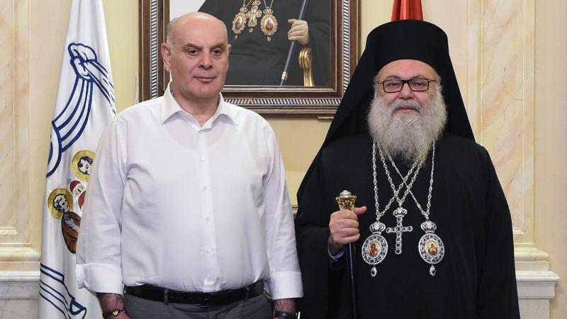 ბჟანიას ვიზიტი ანტიოქიის პატრიარქთან და რუსეთი ფარდის უკან