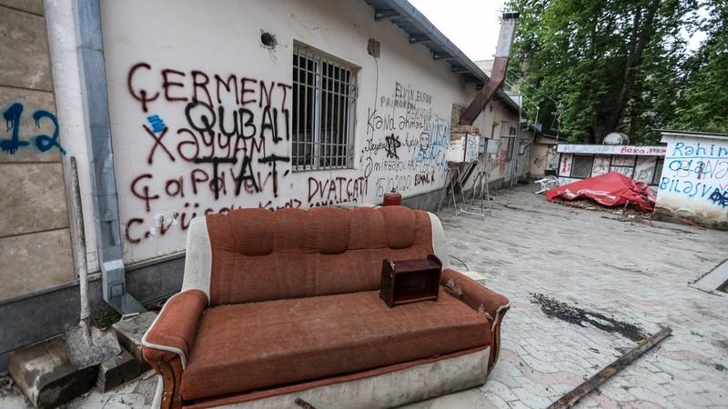 Фотографии сел и мест, перешедших под контроль Азербайджана
