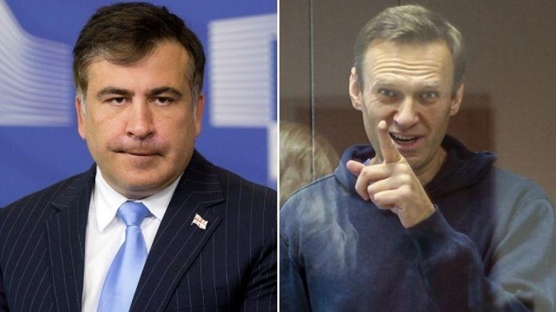 Саакашвили: У меня в «сумасшедшая поддержка», у Навального в России такой нет