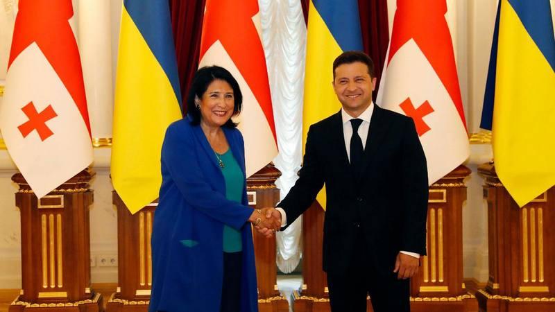 Президент Грузии отметила важность развития отношений с Украиной