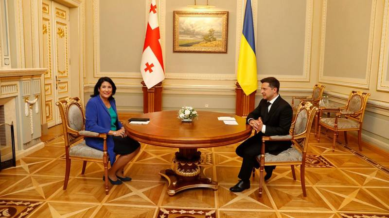 Зурабишвили: «Наш путь к деоккупации это мирный путь. Хочу призвать Россию к такому же пути»
