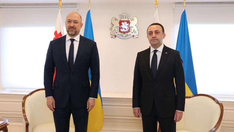 Премьер Украины выразил поддержку суверенитету и территориальной целостности Грузии