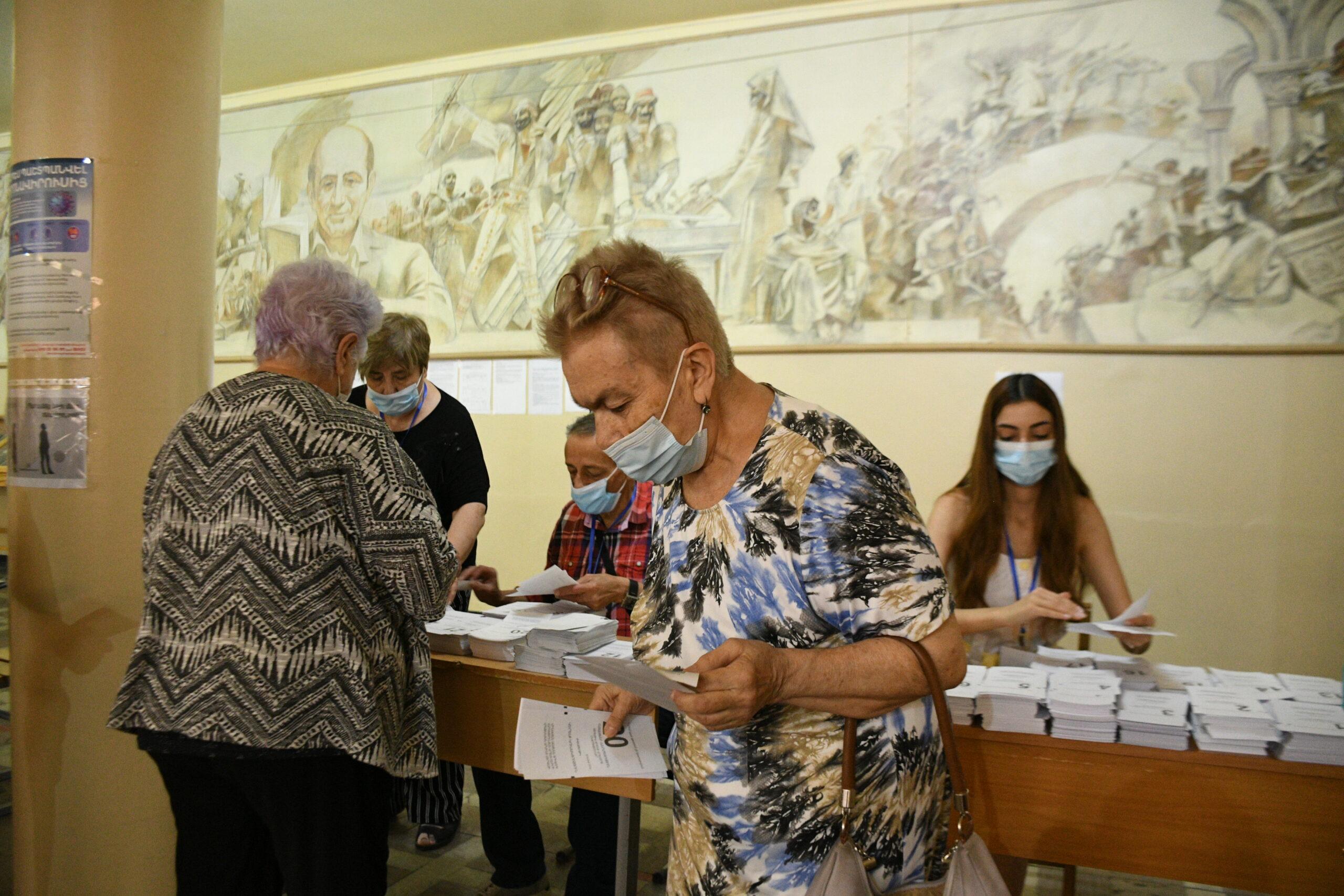 ვადამდელი საპარლამენტო არჩევნები სომხეთში; ფოტო: ნარეკ ალექსანიანი/ნეტგაზეთი, 20 ივნისი, 2021