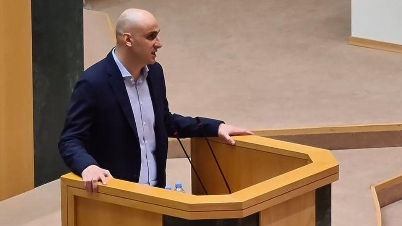Комитет парламента поддержал досрочное прекращение депутатских полномочий Ники Мелия