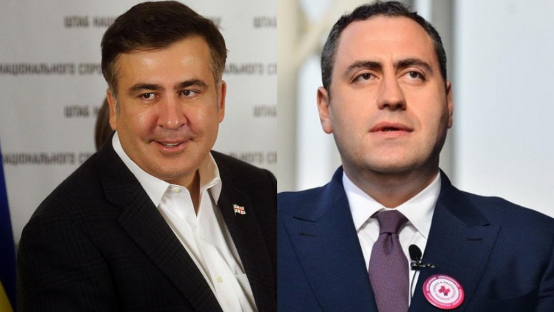 «Проголодался, несчастный» — Саакашвили раскритиковал Гиоргия Вашадзе