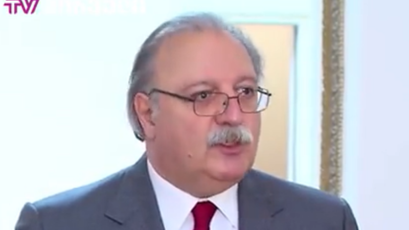 Экс-председатель «Нацдвижения» Григол Вашадзе явился в парламент