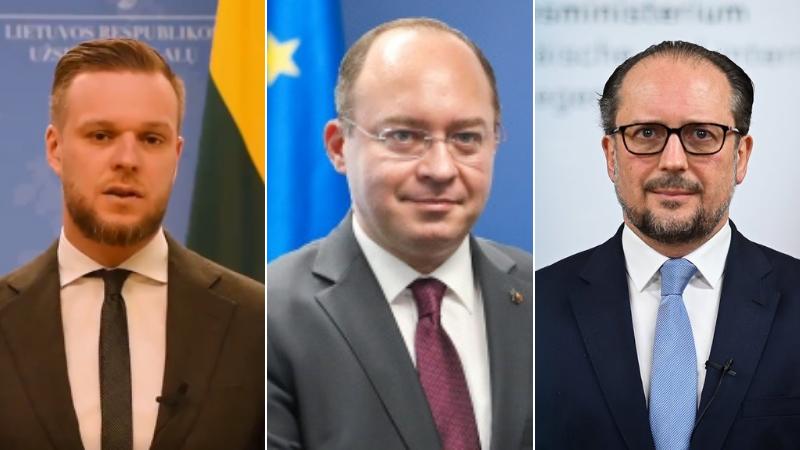 Главы МИД Румынии, Австрии и Литвы посетят Грузию