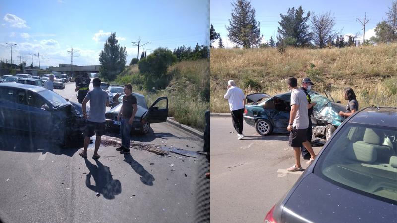 კახეთის გზატკეცილზე ავარია მოხდა