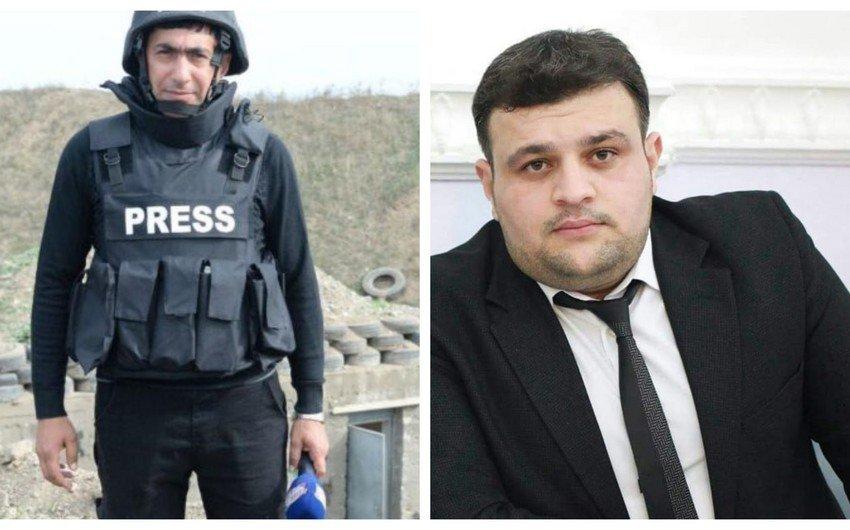 Азербайджанские журналисты подорвались на мине в Карабахе
