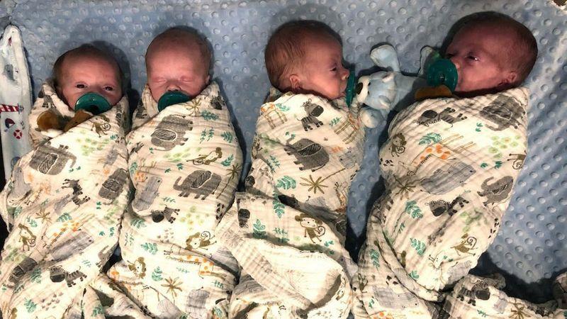 В Грузии родились сразу четыре близнеца