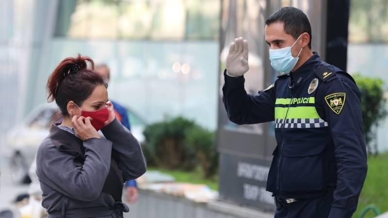 Гамкрелидзе объявил о новой регуляции касательно ношения масок на открытом пространстве